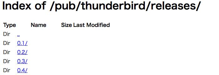 Thunderbird FTP